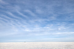saskatchewan, winter, snow, prairie, silos, sky, clouds, solemn, minimalism