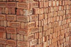 brick, abstract, brick wall, blocks, india, orange, wallpaper, background, texture