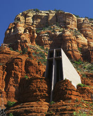 Arizona, Sedona, red rocks, chapel of the holy cross, chapel of the rock, chapel in the rock, church in the rock, vortex