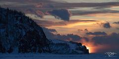 russia, lake baikal, siberia, ice, winter, Pribaikalsky National Park, Прибайкальский национальный парк, Pribaykalski National Park, cape khoboi, khoboi cape, cape khoboy, olkhon island, sunset, panor