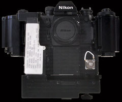 NASA modified Nikon F3 big camera