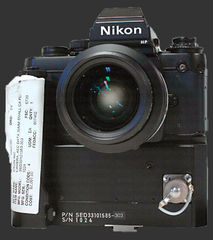 NASA modified Nikon F3 small camera
