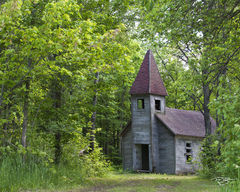 derelict, abandoned, church, chapel, cathedral, chapel in the woods, church in the woods, forest, estonian, first estonian church, wisconsin, Estonian Evangelical Martin Luther Church