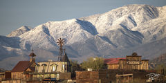 arizona, goldfield, goldfield, ghost town, snow in the desert, four peaks, 4 peaks, barn, abandoned, old west, apache junction, superstition, wilderness, gold canyon, tonto national forest, sonoran de