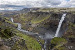 iceland, highlands, river, fossa river, Fossa, haifoss, waterfall, waterfalls