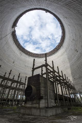 Inside the Cooling Tower