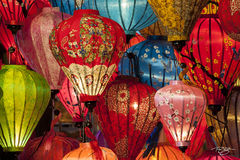 vietnam, blue, green, red, pink, lanterns, paper lantern, lights, colourful, colorful, colour, colours, colors, kaleidoscope, hoi an