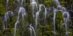 mossbrae falls, waterfall, falls, water, lush, green, dunsmuir, california, cascade