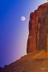 Arizona, Monument Valley, red rocks, Merrick Butte, full moon, moonrise, moon at monument valley, northern arizona, four corners