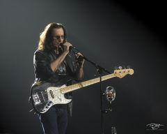 rush, fender, geddy lee, in concert, performing, rock concert, clockwork angels tour, 2012, bass guitar, speaking