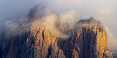 superstition mountain, arizona, clouds, dramatic, panorama, mountain, sunset, sunrise, selective light, drama, tempest