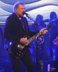 rush, alex lifeson, in concert, performing, rock concert, clockwork angels tour, 2012, keyboards