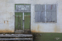 norway, gallery, lofoten, electric blue cafe, ramberg, restaurant, lounge, bar, cafe, flakstad, flakstadoya, abandoned, door, window, forgotten, vacant, dormant, rusted, paint, weathered, winter, peel
