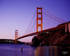 golden gate bridge, bridge, san francisco, golden gate, california, long exposure, dusk, predawn, twilight