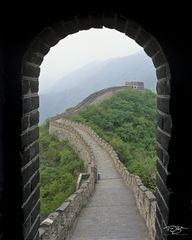 great wall of china, doorway, gatehouse, watch tower, watchtower, mutianyu, badaling, great wall, beijing, fortress, impenetrable, world wonder, 7 wonders of the world, ancient world, wonder, stone sn