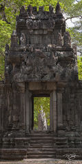 angkor wat, cambodia, temple, angkor wat, portal, doorway, door, tree, backlit, quantum leap, passageway