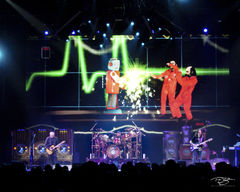rush, concert, neil peart, geddy lee, alex lifeson, time machine tour