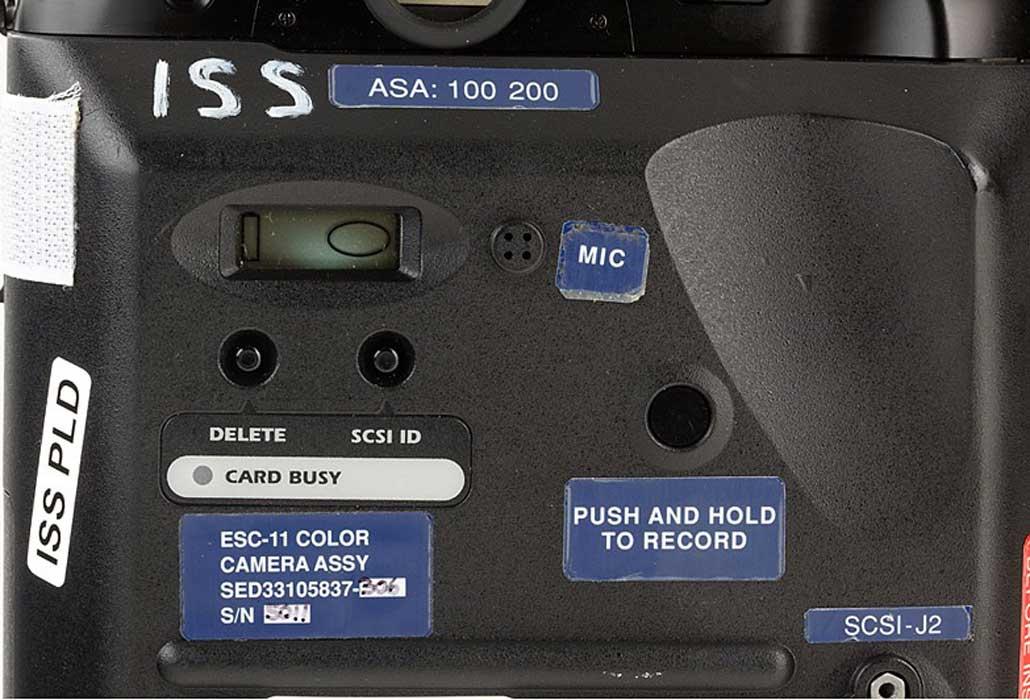 nasa, nikon, space camera, flown, space shuttle, nikkor, F, F3, small camera, big camera, large camera, F4, F4S, DCS 460, DCS660, DCS760, F5, photo