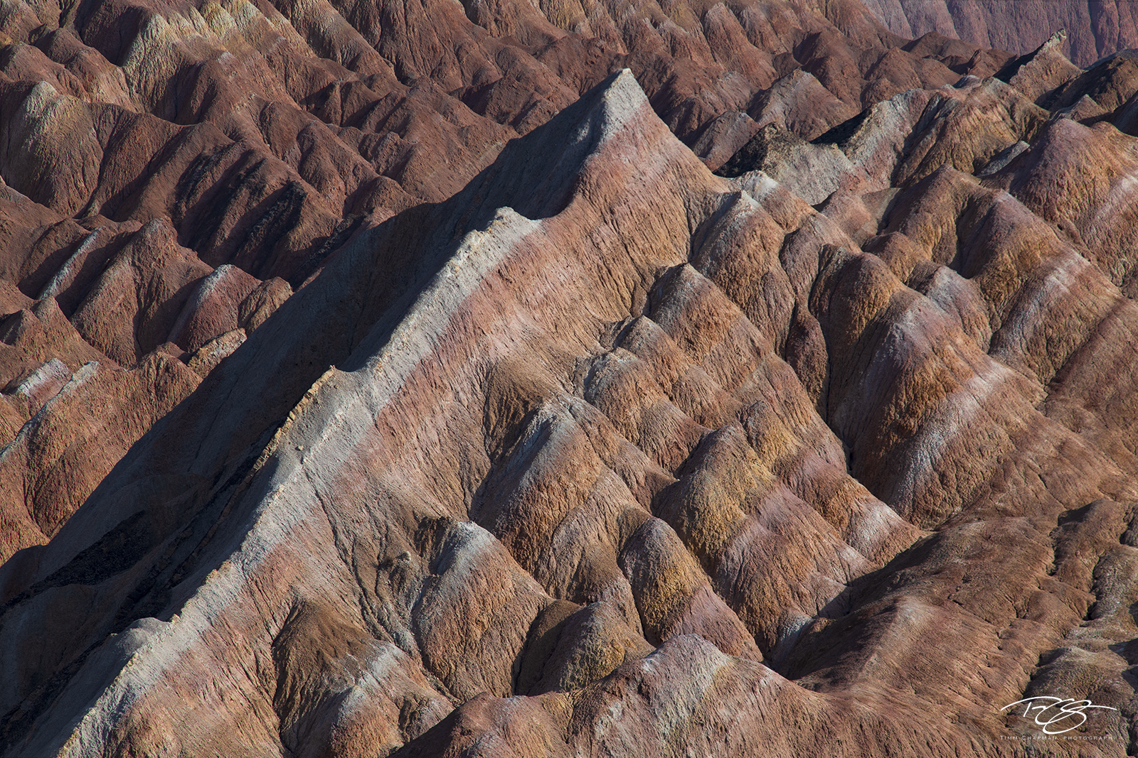 zhangye; danxia; landform; geological park; china; painted mountains; rock; stone; abstract; patterns; multi colour; multi color; stone, photo