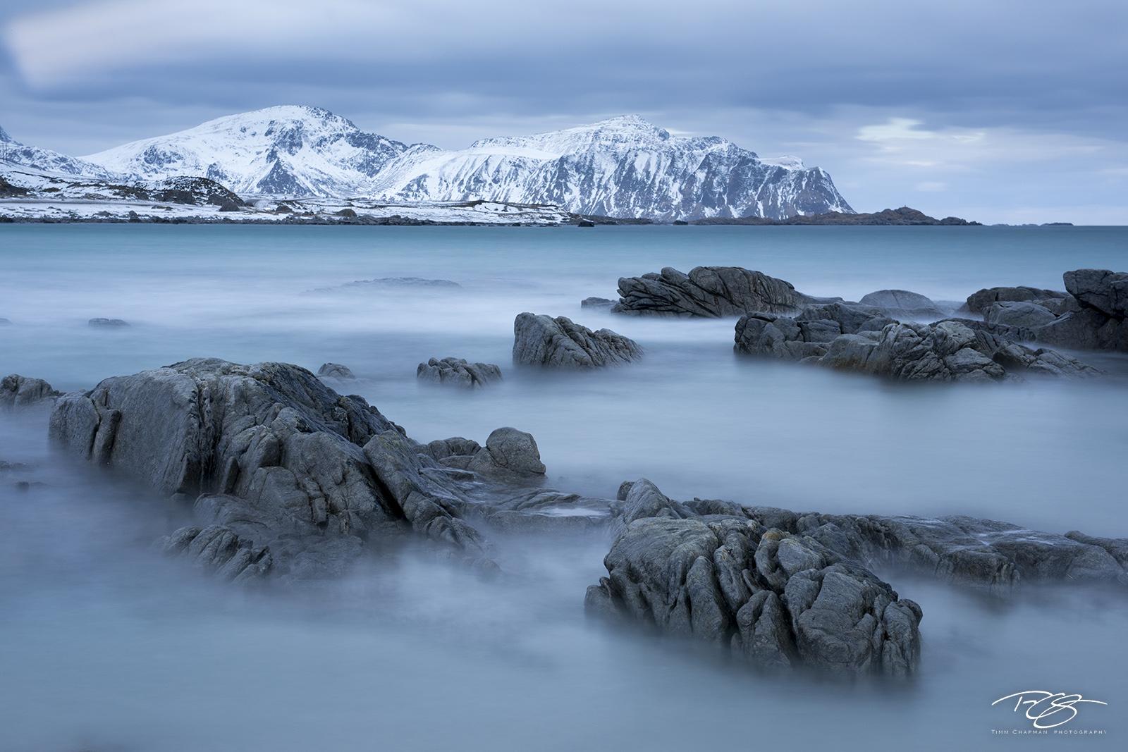 rocks, norway, long exposure, sea, coastline, coast, beach, arctic, lofoten, boulders, norwegian sea, calm, peace, tranquility, resilience, strength, photo