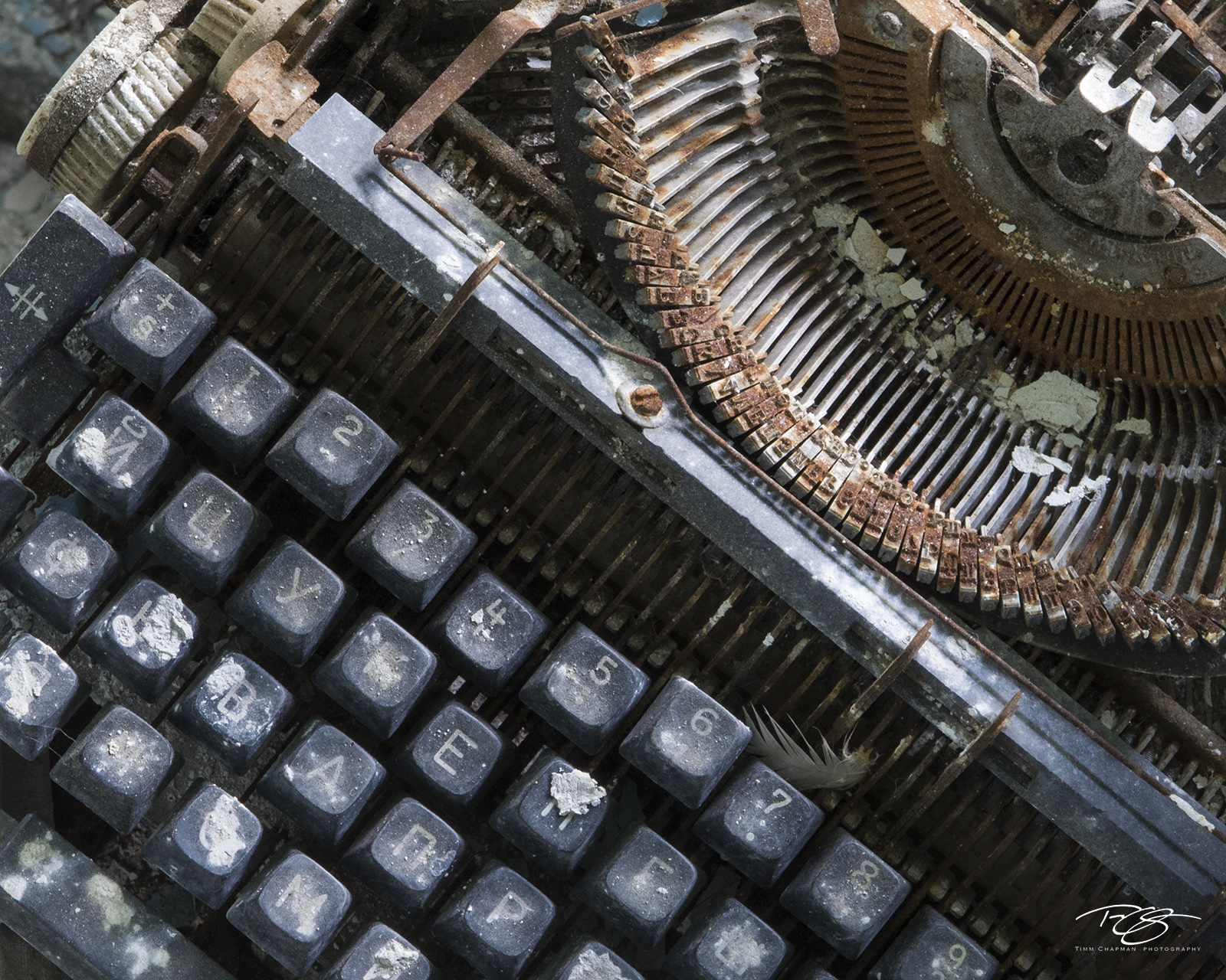 chernobyl, chornobyl, pripyat, exclusion zone, abandoned, forgotten, wasteland, radioactive, decay, peeling paint, typewriter, ghost writer, writer, book, author, dirty, weathered, debris, photo