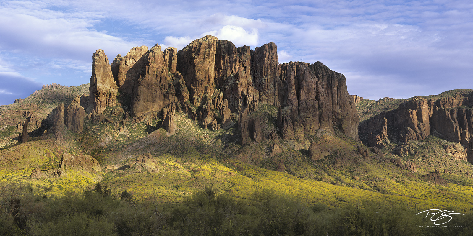 arizona, superstition mountain, supe, superstition wilderness, spring, springtime, yellow, arizona, southwest, shadows, rocky, lost dutchman, mine, panorama, photo