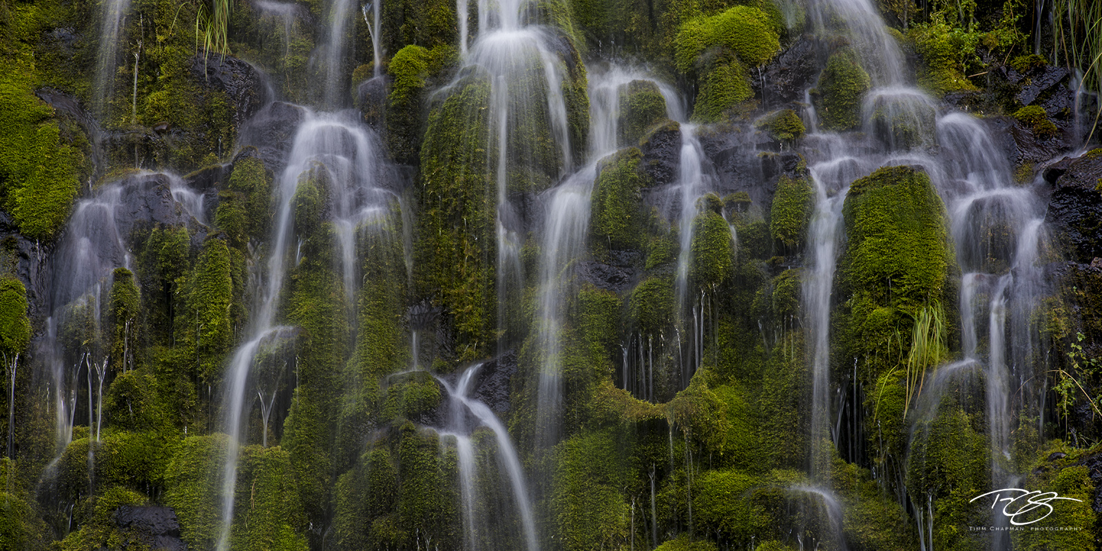 mossbrae falls, waterfall, falls, water, lush, green, dunsmuir, california, cascade, photo