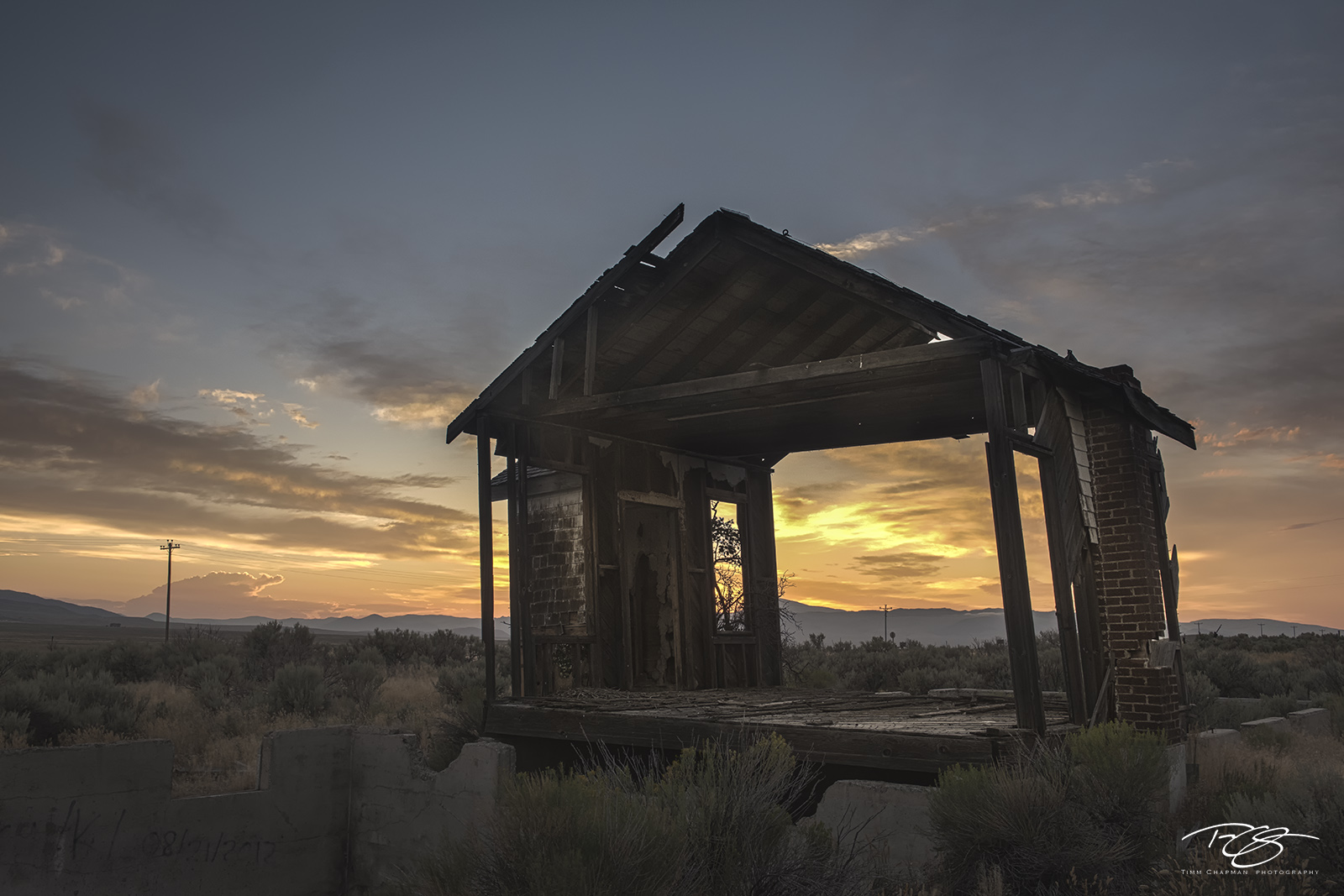 abandoned, house, home, barn, sunset, derelict, worn down, weathered, idaho, photo
