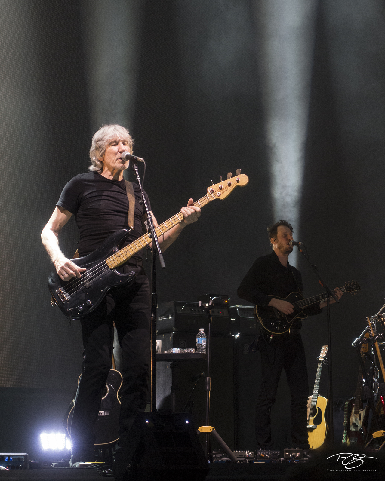 roger waters, pink floyd, in concert, performing, us + them, us and them, gus seyffert, photo