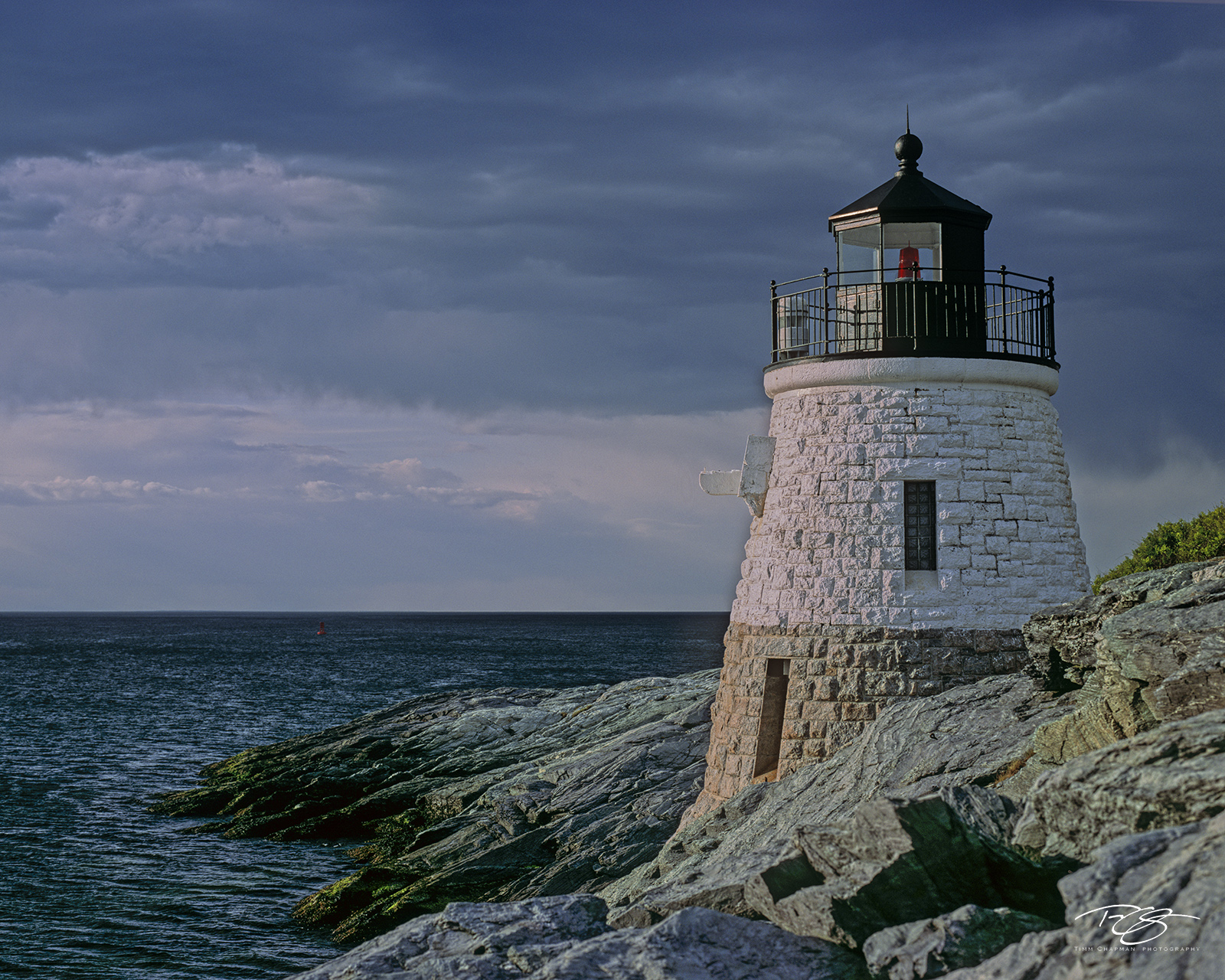 Rhode Island, calm before the storm, beacon, sentry of the sea, protector, guide, Newport, Castle Hill, Lighthouse, Lighthouses, Storm, Sea, Stormy Seas, Rough Water, Beacon, light house