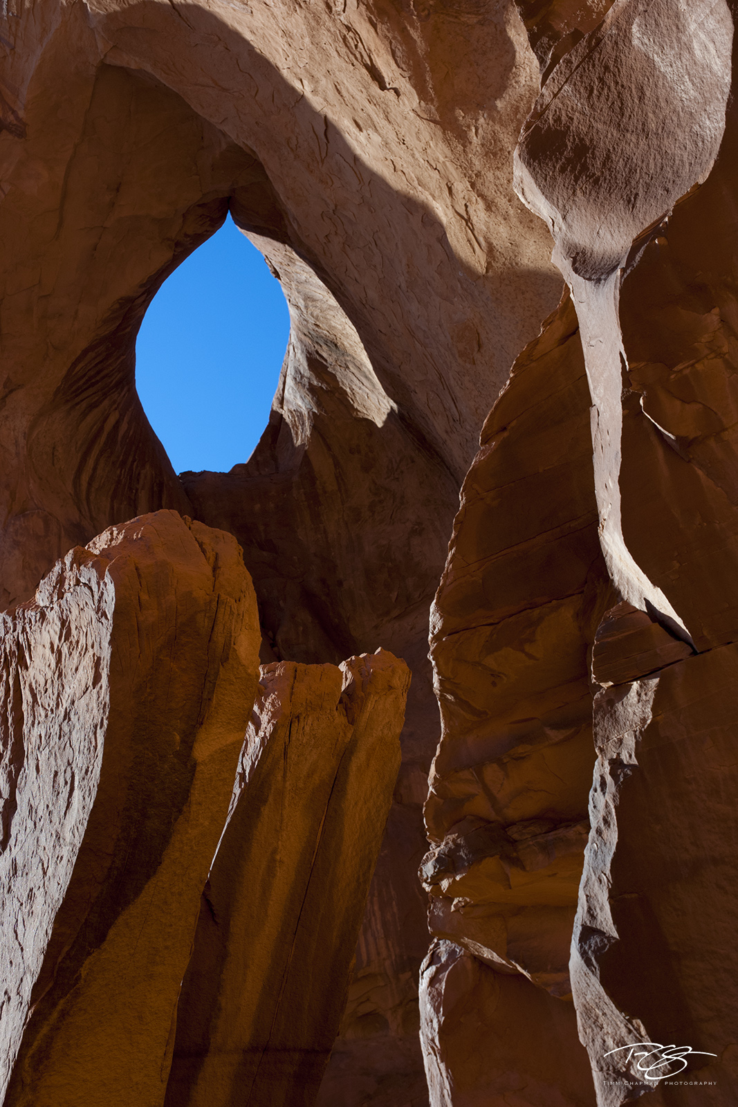 arizona, arch, sandstone, utah, arches national park, navajo, navajo nation, four corners, monument valley, eye, abstract, glow, orange, blue, photo
