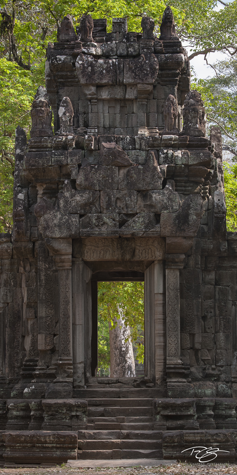 Climb the steps of this ancient temple and enter another dimension...